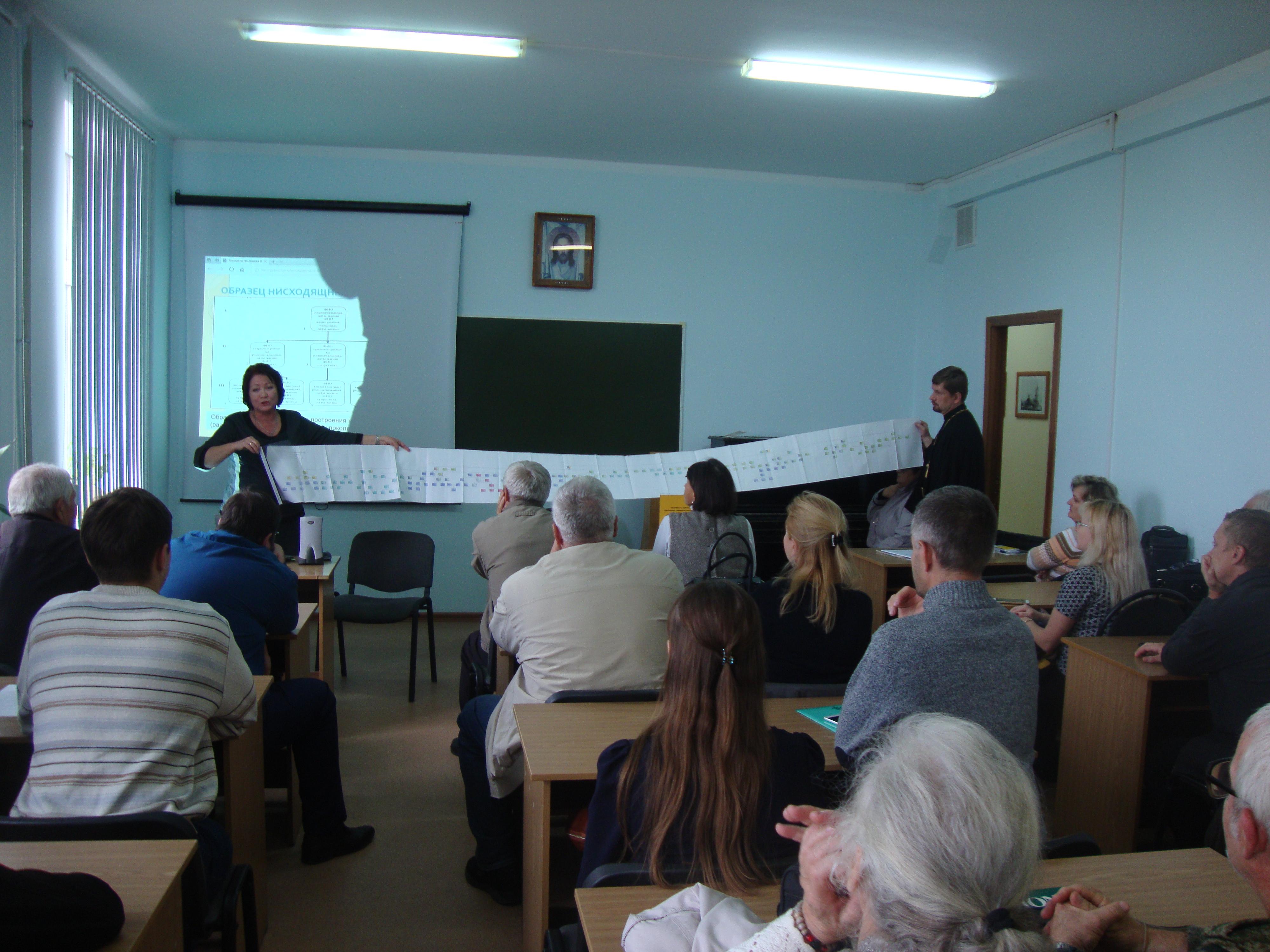 Выездное собрание Царицынского генеалогического общества с участием слушателей Центра