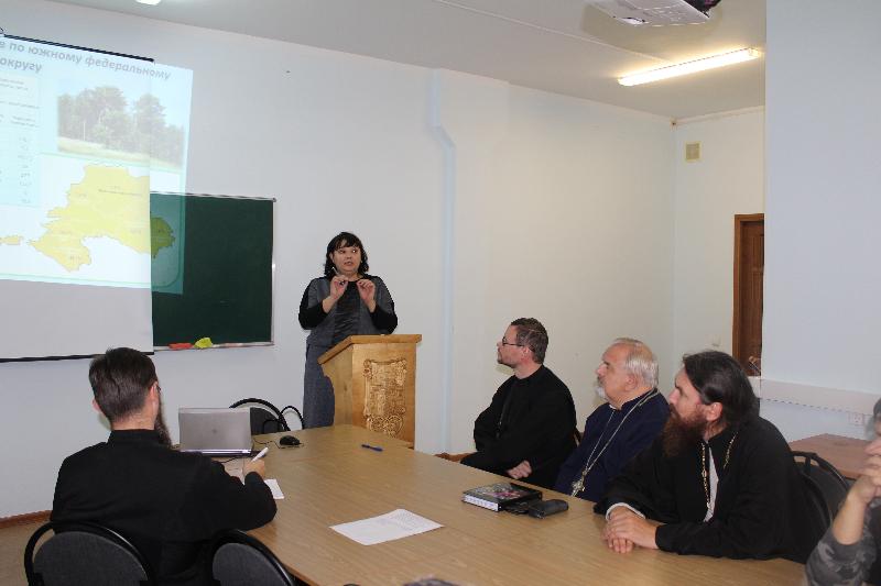 Студенты Царицынского православного университета и Центра подготовки церковных специалистов встретились с руководством Комитета лесного хозяйства Волгоградской области