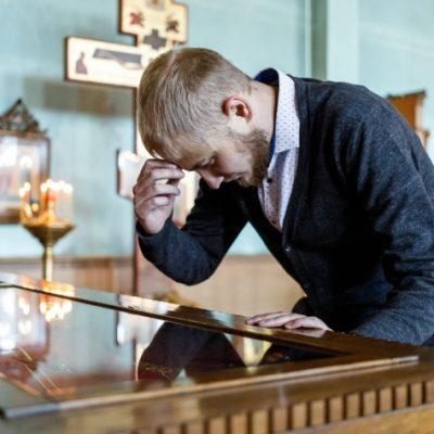 Студент Царицынского православного университета (фото Алексей Волхонский, материал v1.ru от 11.02.2019)